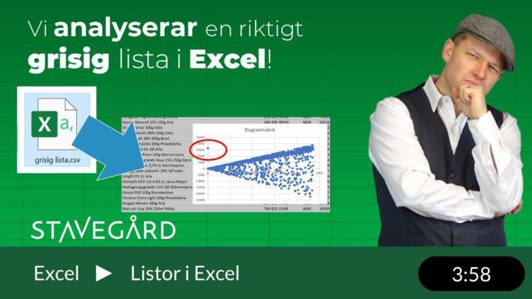 Hur man kan analysera CSV-filer i Excel