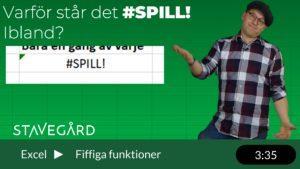 SPILL i Excel