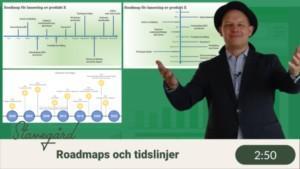 gratis roadmapfil i Excel