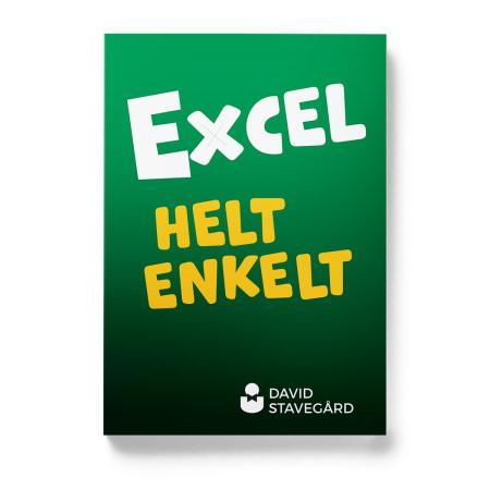 Boken Excel helt enkelt av David Stavegård