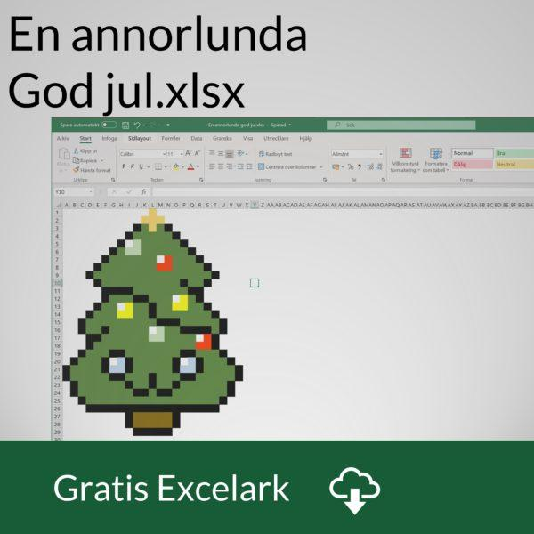 Pixel art i Excel