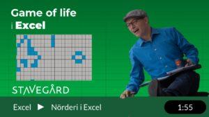 game of life i Excel