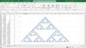 Sierpinski-triangel i Excel!