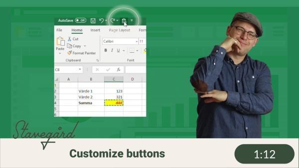 Lägg till nya knappar?