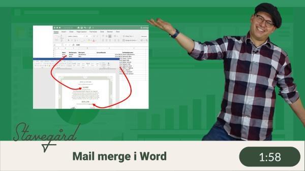 Automatisera Word med hjälp av Excel? Ja!
